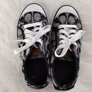 Coach Sneakers, Size 5.5